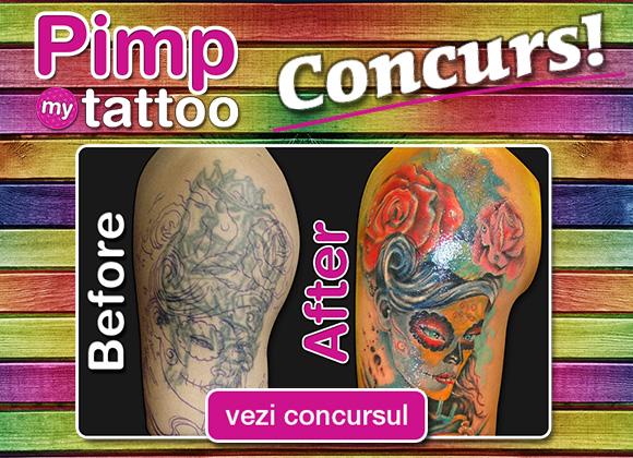 Concurs Pimp My Tattoo Eli Tattoo & Piercing Brasov Mai 2013