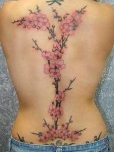 Semnificatia tatuajelor florale.