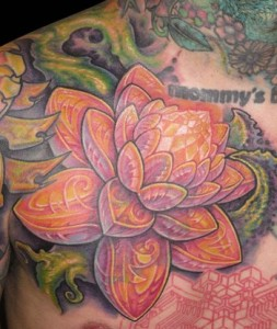 Semnificația tatuajelor florale.