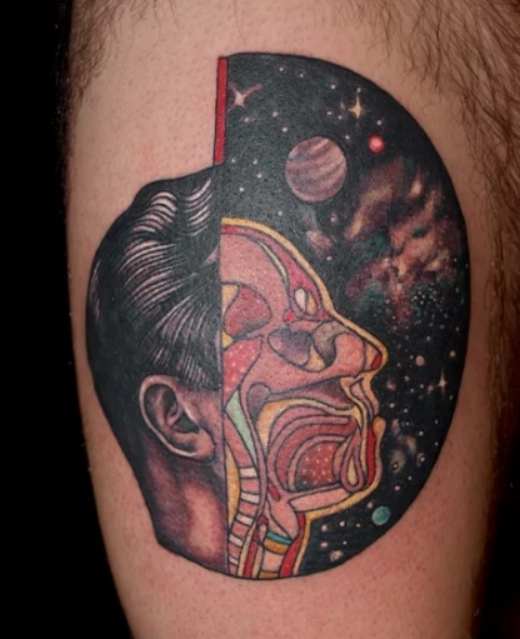 Pictures Of Space Tattoo Designs Black And White Www Kidskunst Info