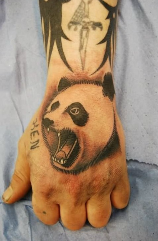 agressive-panda-bear-tattoo