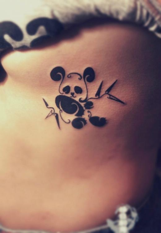 cute-panda-bear-tattoo