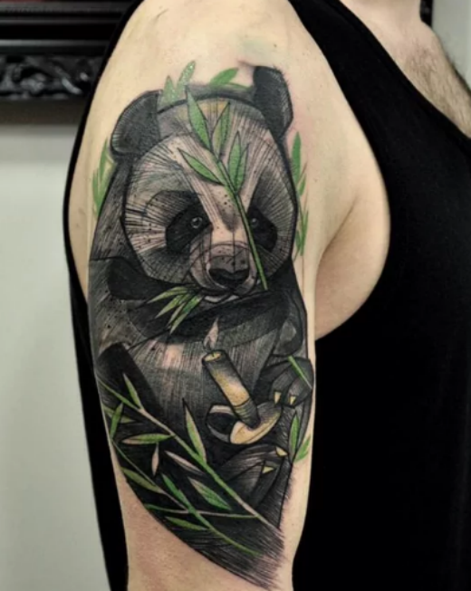 panda-bear-tattoo